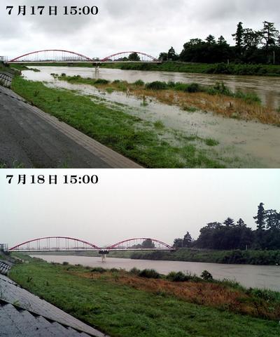 小松市梯川