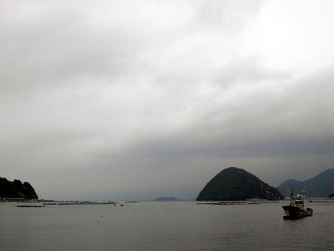 三津より駿河湾を臨む