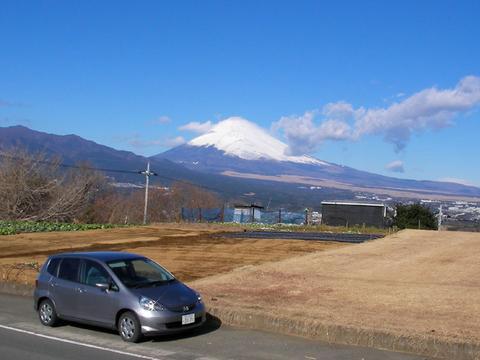 三島市徳倉からの富士山
