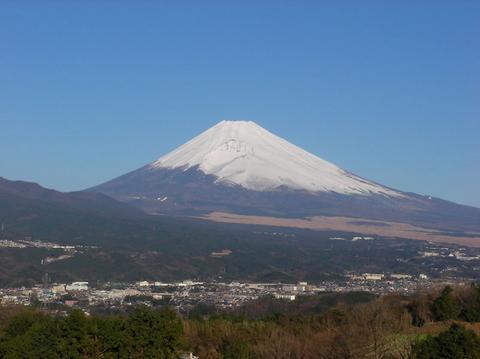 1月2日の富士山