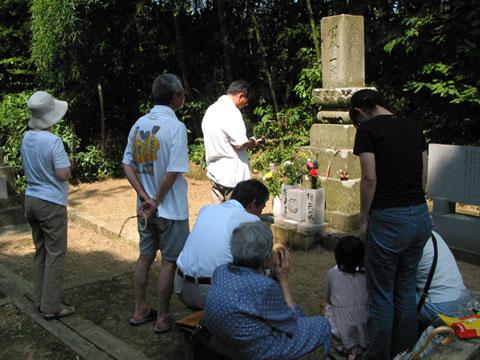 2006年墓参り
