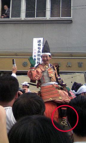 石田純一さん扮する頼朝公