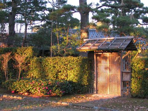 芦城公園の茶室