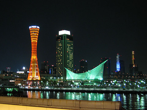 ポートタワーの夜景