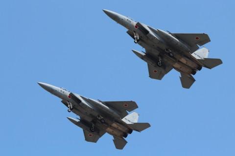 今日のF-15