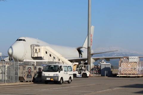 カーゴルックス航空 B747-400F