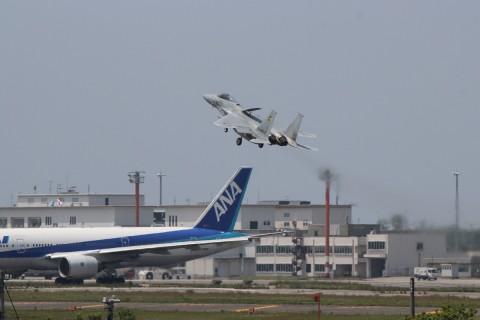 F-15J 急上昇