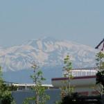 緑地公園からの白山